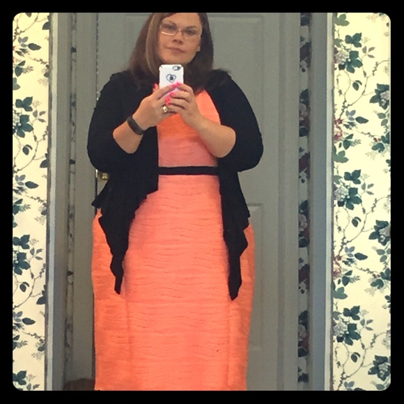 Cato Dresses   Skirts - Cato Woman Bright Orange Textured Dress (my fav!) bc2f6a360